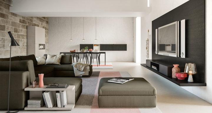 Alf Da Fre living room design | Misure Arreda - Mobili e Arredo in provincia di Bergamo