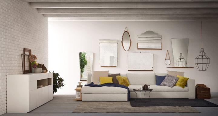 Alf Da Fre arredamento moderno soggiorno | Misure Arreda - Mobili e Arredo in provincia di Bergamo