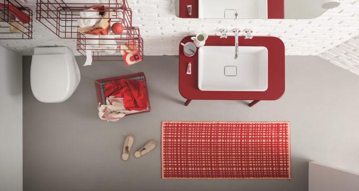 BIREX arredo bagno rosso | Misure Arreda - Mobili e Arredo in provincia di Bergamo