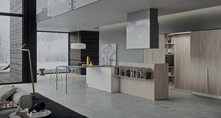 Copat Life arredare cucina a vista design | Misure Arreda - Mobili e Arredo in provincia di Bergamo