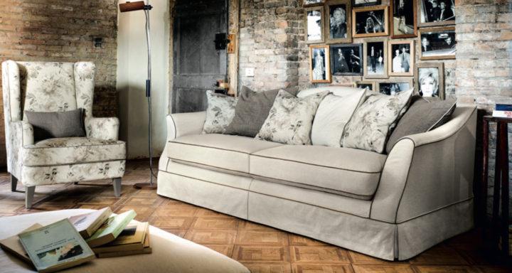 Cava divani Brera soggiorno classico | Misure Arreda - Mobili e Arredo in provincia di Bergamo