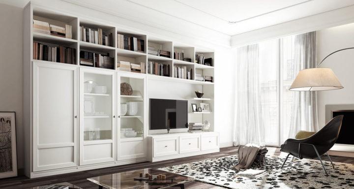 PACEMA citylife arredamento soggiorno classico | Misure Arreda - Mobili e Arredo in provincia di Bergamo