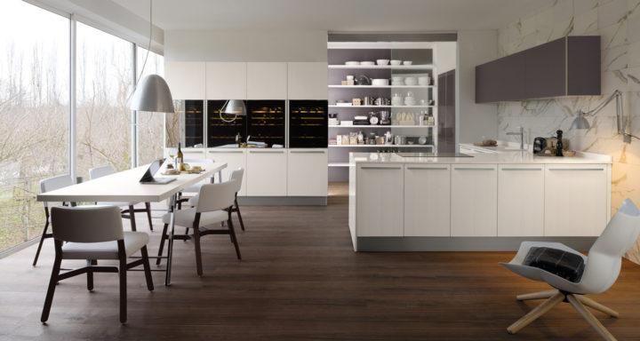 Veneta Cucine cucina a vista design | Misure Arreda - Mobili e Arredo in provincia di Bergamo